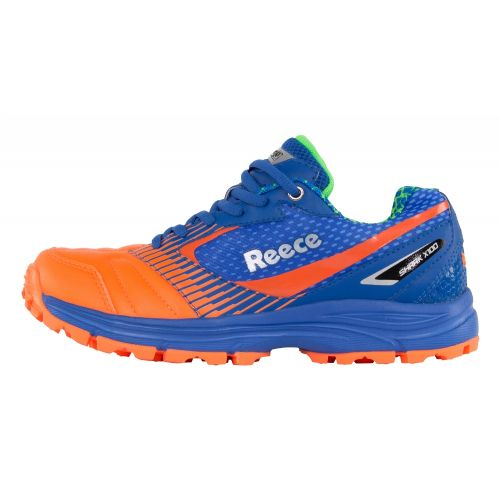 Reece Shark Blue/Orange Hockey Shoe Junior